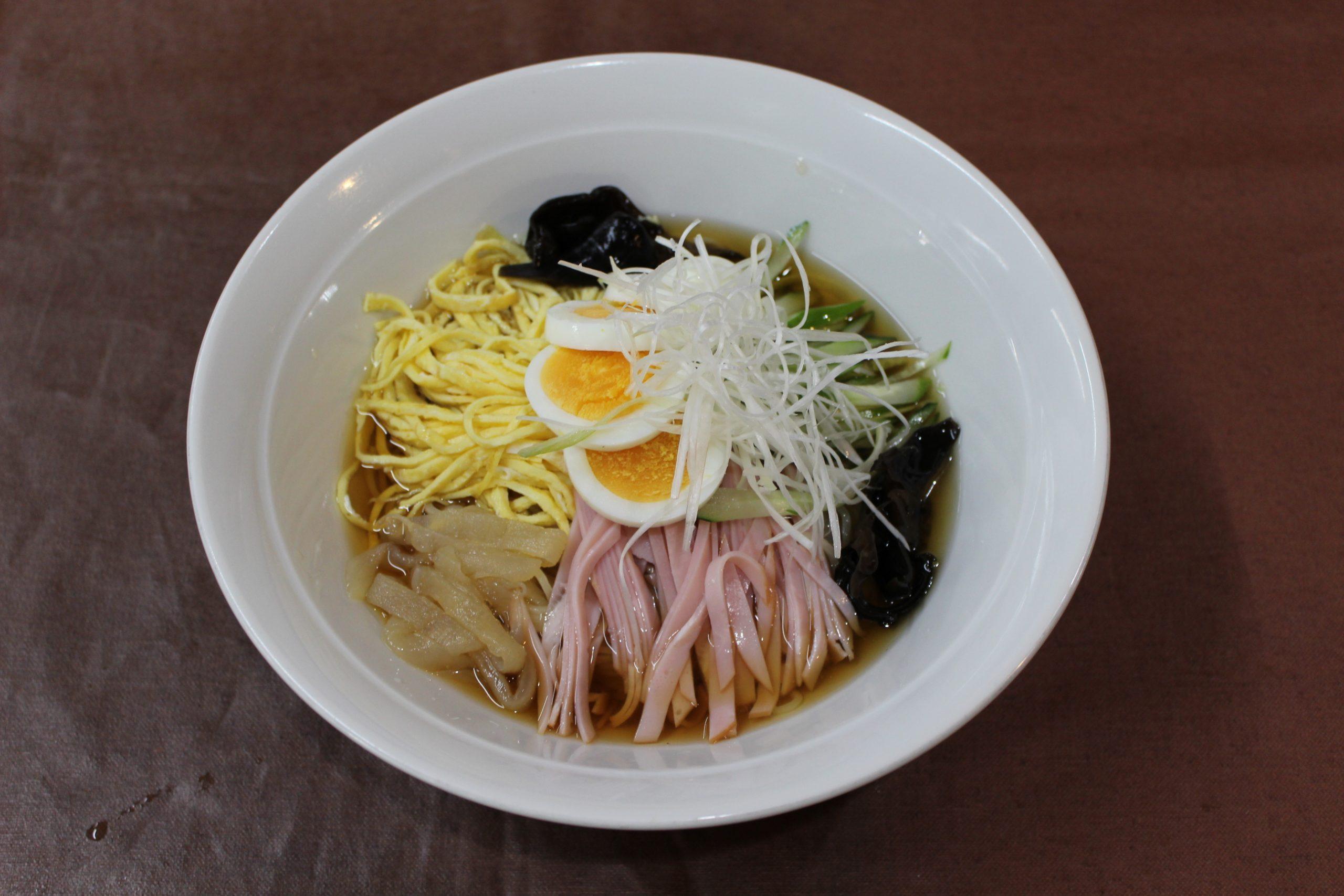 【中華冷麺】中華冷やしラーメン