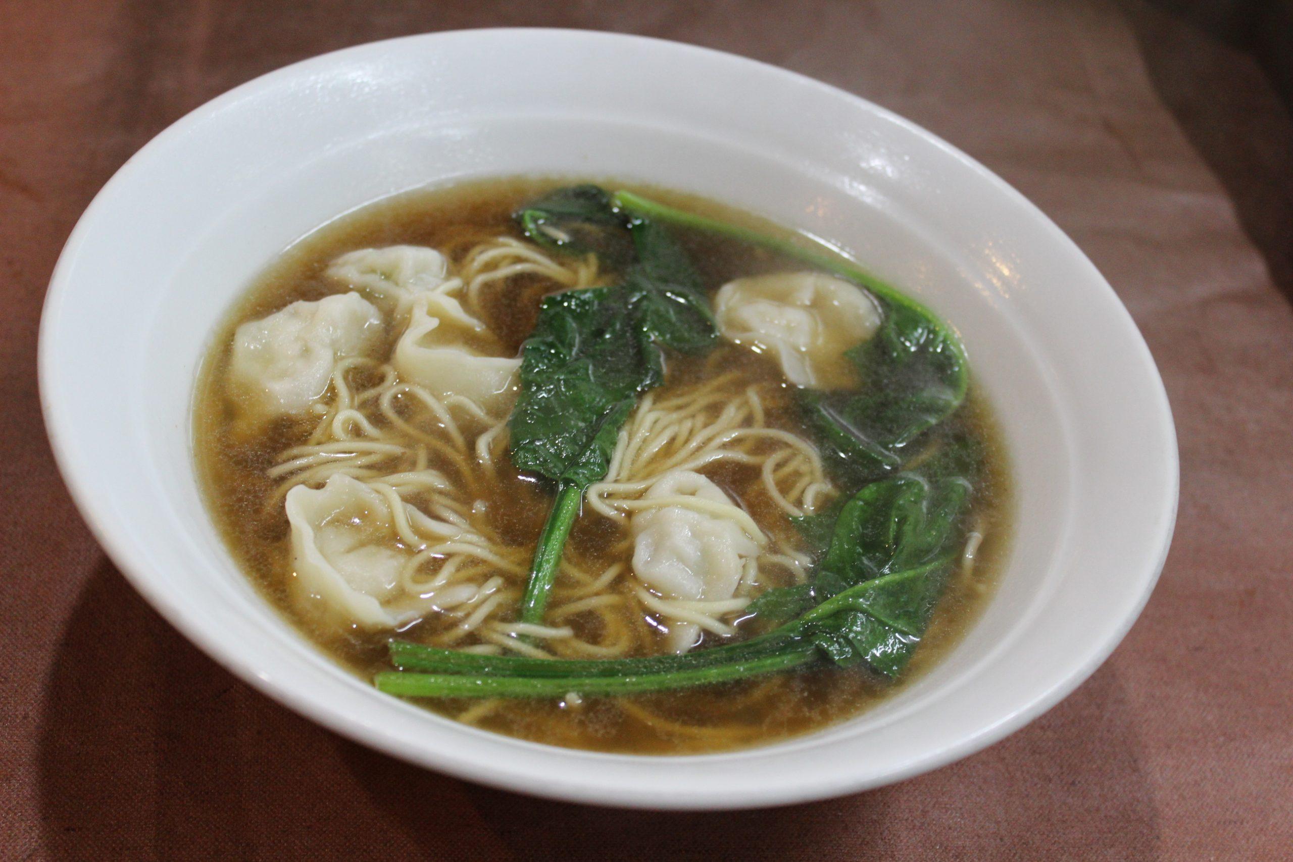 【馄饨麺】ワンタン麺
