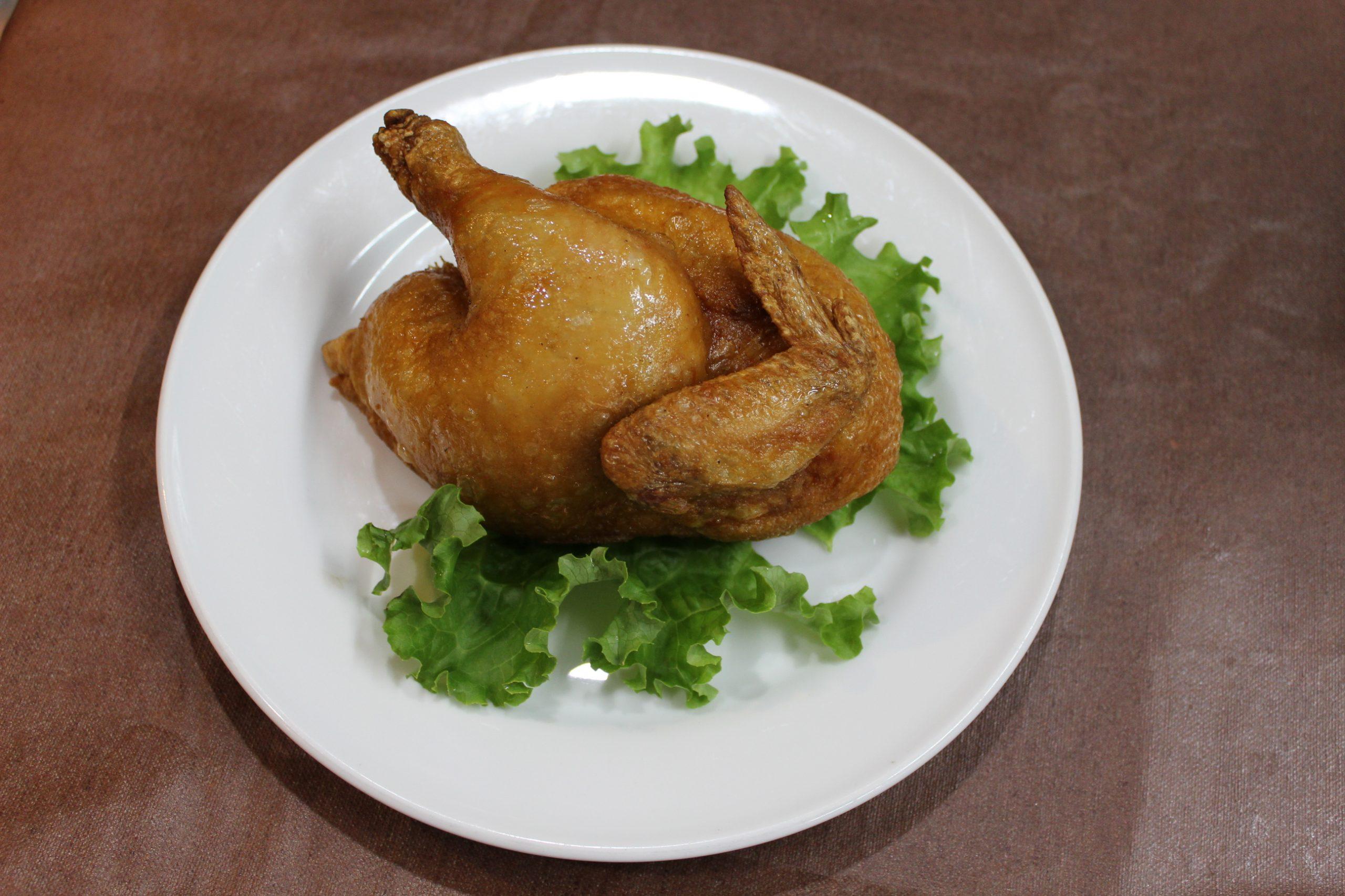 【炸半鶏】若鶏の半身揚げ