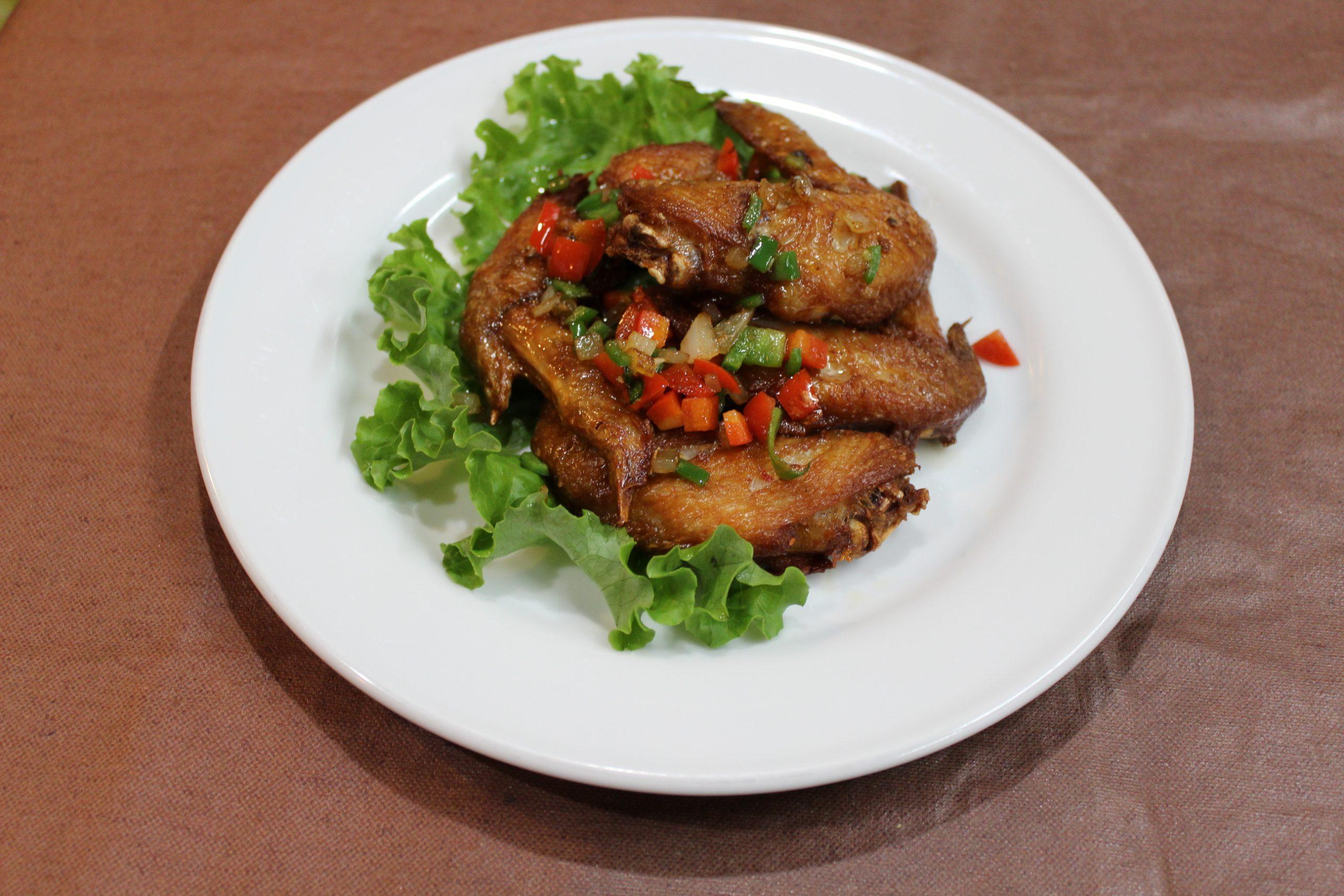 【紅焼鶏翅】手羽先のオーブン焼き