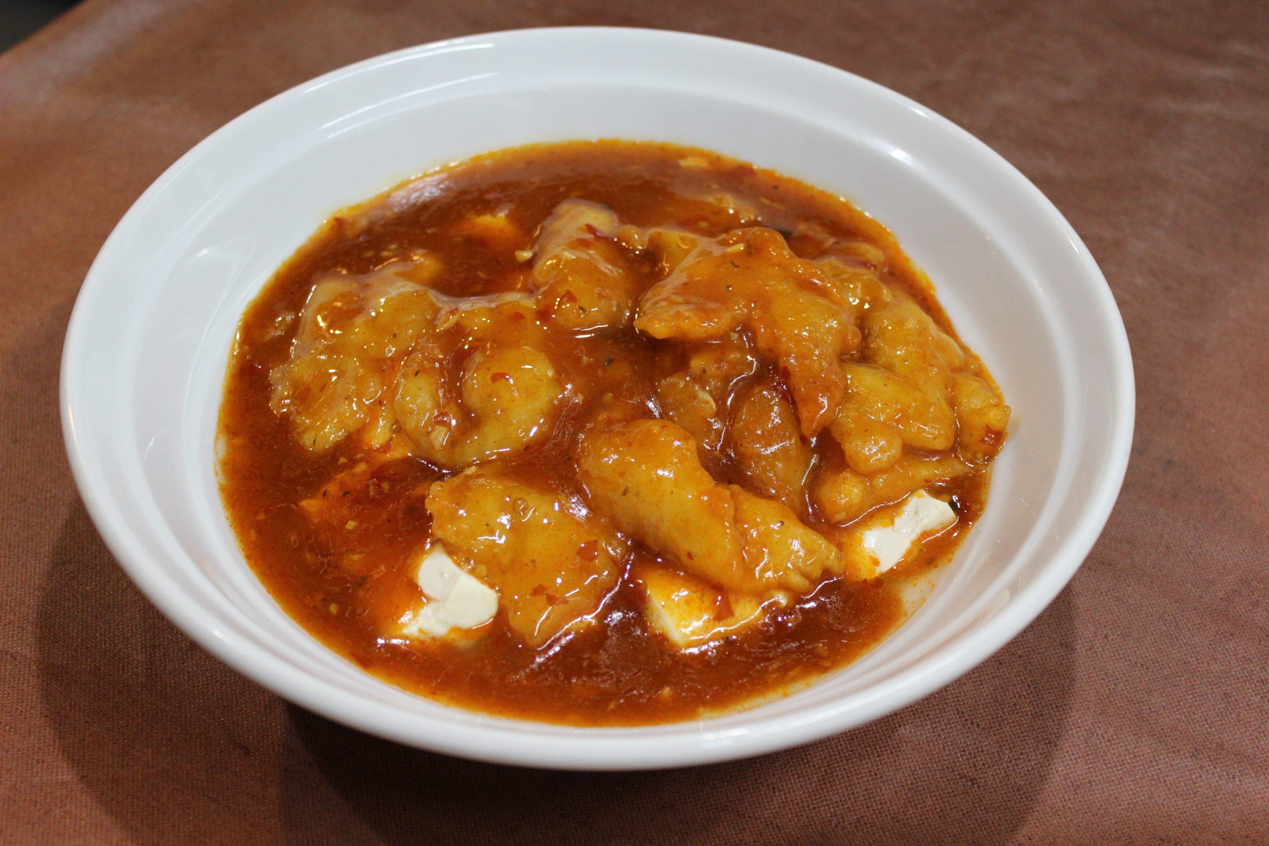 【豆花鮮魚】魚と豆腐の四川風料理