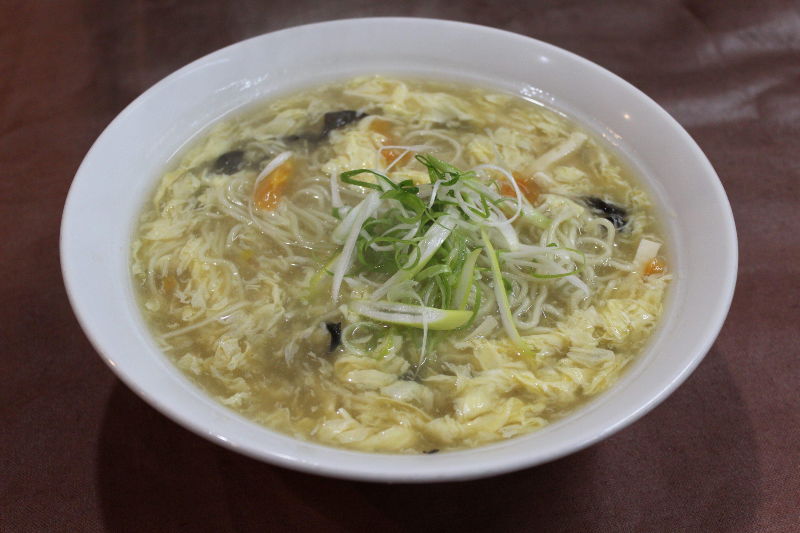 【酸辣湯麺】サンラータン麺